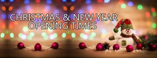 Christmas & New Year Opening Times
